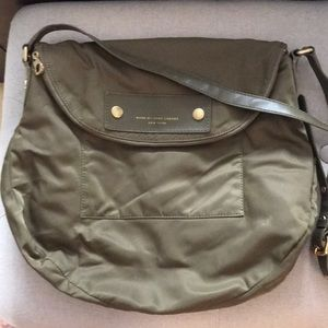 Marc Jacobs Large Cross Body Bag- Army Green